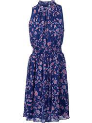 расклешенное платье с цветочным принтом Rebecca Taylor