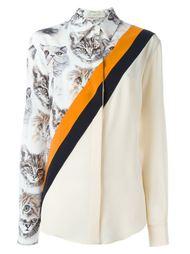 рубашка с принтом кошек  Stella McCartney