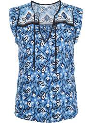 блузка c V-образным вырезом  Veronica Beard