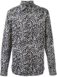 рубашка с абстрактным узором Marni
