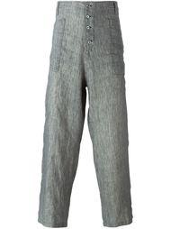 брюки с завышенной посадкой Geoffrey B. Small
