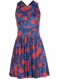платье мини с цветочным принтом  Sophie Theallet