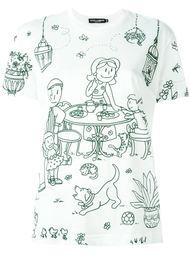 футболка с принтом Dolce & Gabbana