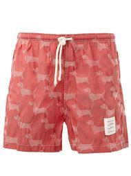 шорты для плавания с принтом собак Thom Browne