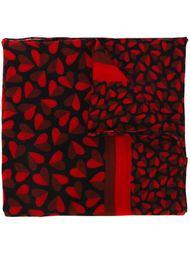 шарф с принтом сердец  Ps By Paul Smith
