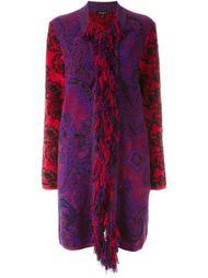 пальто с бахромой  Etro