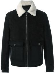 куртка с контрастным воротником   Salvatore Ferragamo