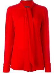 блузка с бантом Alexander McQueen