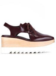 туфли 'Elyse' с вырезными деталями Stella McCartney
