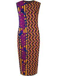 geometric knit dress Gig