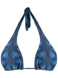 printed halterneck bikini top Lygia & Nanny