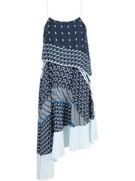 платье асимметричного кроя  Jonathan Simkhai
