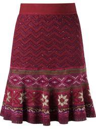 tricot flared skirt Cecilia Prado