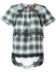 блузка в клетку  Nº21
