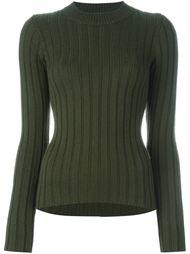 свитер в рубчик  Mm6 Maison Margiela
