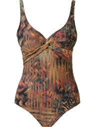 printed open back swimsuit Lygia & Nanny