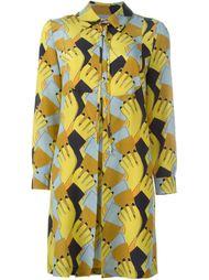 платье-рубашка с геометрическим принтом  L'Autre Chose