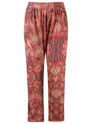 abstract print trousers Lygia & Nanny
