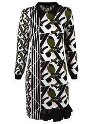 geometric pattern knit dress Gig