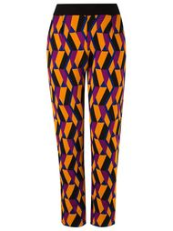 geometric knit trousers Gig