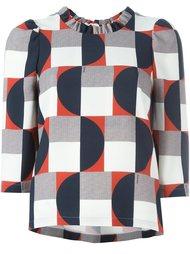 блузка с геометрическим принтом  L'Autre Chose