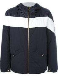 куртка с контрастной полоской  Moncler Gamme Bleu