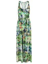 abstract print long dress Lygia & Nanny