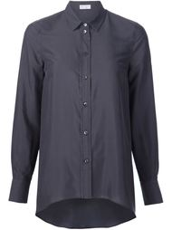 рубашка с закругленным подолом Brunello Cucinelli