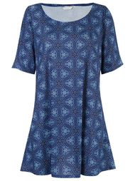 round neck printed dress Lygia & Nanny