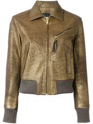 куртка с эффектом металлик  Golden Goose Deluxe Brand
