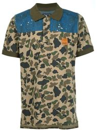 рубашка с камуфляжным принтом Prps