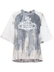 футболка с принтом-логотипом Vivienne Westwood Anglomania