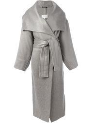 пальто с поясом  Maison Margiela