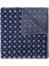 карманный платок в клетку Brunello Cucinelli
