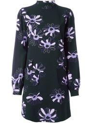 платье с цветочным узором Giamba