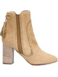 ботинки с кисточками Aquazzura