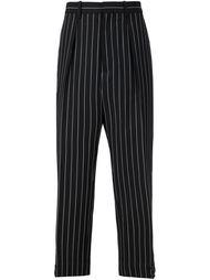 брюки в полоску Marni
