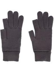 трикотажные перчатки Rick Owens