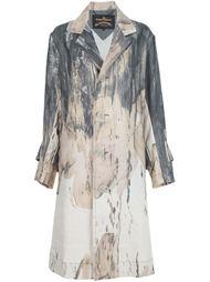 пальто с принтом тай-дай Vivienne Westwood Anglomania