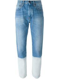джинсы в стиле колор-блок  Ports 1961