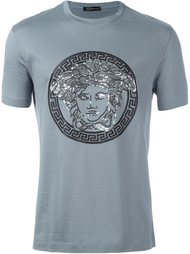 футболка с логотипом  Versace