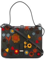 сумка на плечо с цветочной аппликацией  Red Valentino