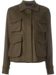пиджак с накладными карманами Odeeh