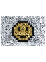 клатч 'Pixel Smiley' Anya Hindmarch