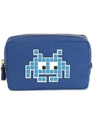 косметичка 'Space Invader'  Anya Hindmarch