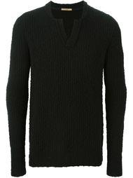 свитер c V-образным вырезом   Nuur