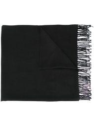 шарф с необработанными краями   Emporio Armani
