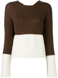 свитер в стиле колор-блок  Marni
