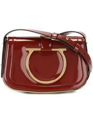сумка на плечо с логотипом  Salvatore Ferragamo
