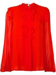 блузка со сборками Giambattista Valli